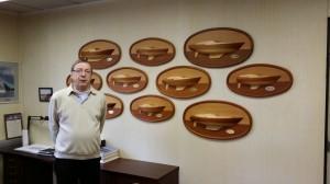Kaj Gustafsson in his office