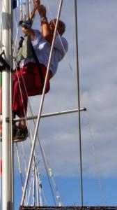 Mast climbing