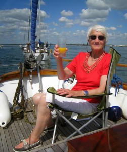 24 Relaxing in Wych Channel Poole